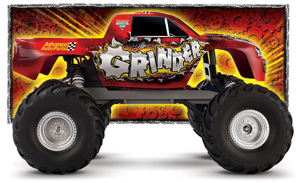 Cb3602r 1 10 Monster Jam Monster Mutt 2wd Monster Truck W Am Radio Xl 5 Esc 상세보기