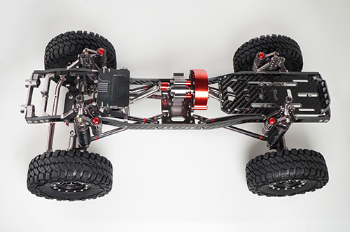 Xtra Speed CNC Machined Aluminum Fully Upgraded SCX10 1/10 Scale Crawler 313mm WB ARTR #XS-CAR-908