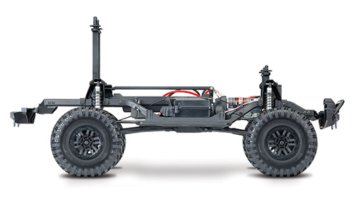 Traxxas TRX-4 1/10 4WD RTR Land Rover Defender Body D110 Scale & Trail Crawler w/ TQi Traxxas Link #82056-4