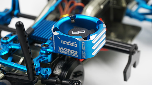 Yeah Racing Aluminum Case 30mm Booster Cooling Fan #YA-0576