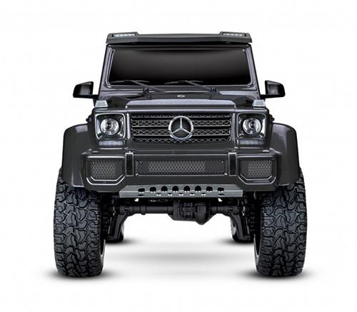 Traxxas TRX-4 Mercedes G-500 Body Metallic Black 1/10 4WD Crawler Truck RTR w/ TQi Traxxas Link #82096-4BLK