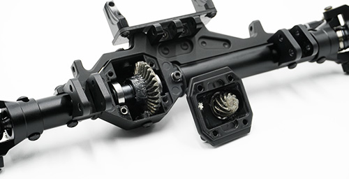 Xtra Speed Assembled Aluminum CNC Front Axle For Axial Wraith RR10 #XS-AW-1XH