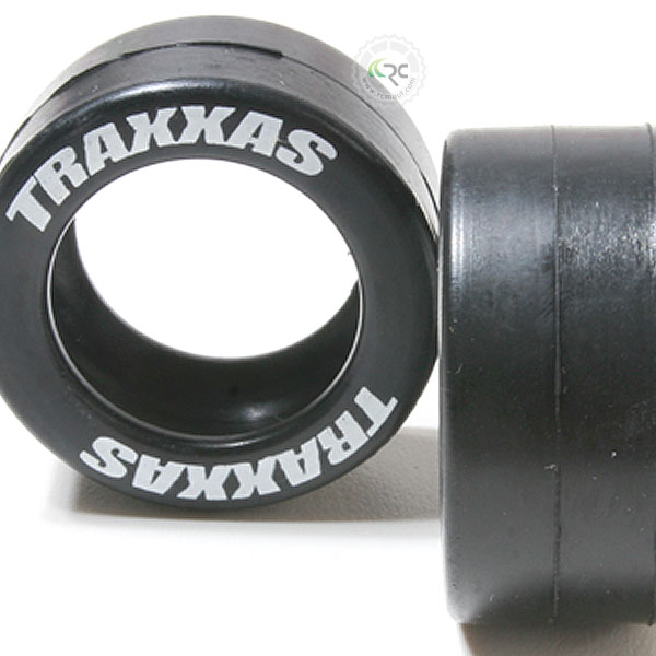 Traxxas 5185: Tires TRAXXAS 2 fits Traxxas wheelie bar wheels rubber